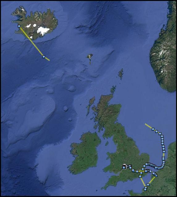 GWF map